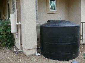 New Rain Gutters Rain Water Saving Element