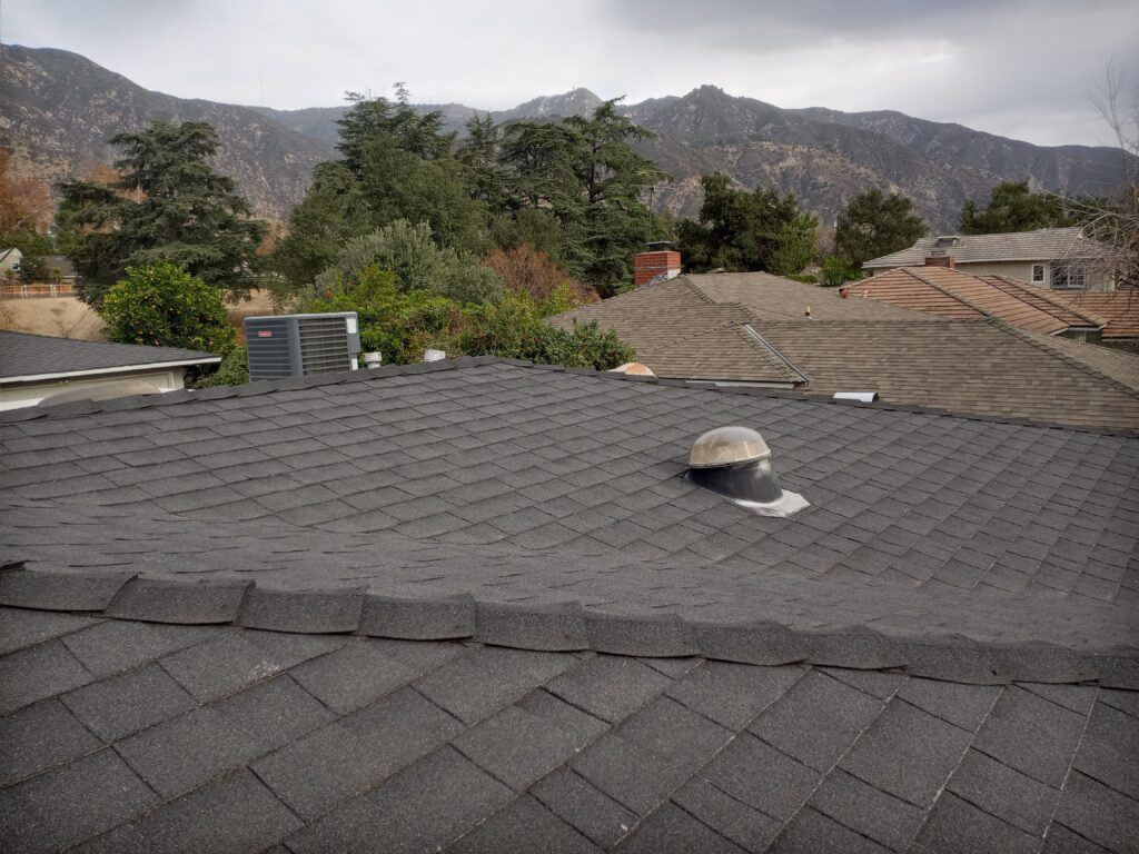 Roofs in Altadena